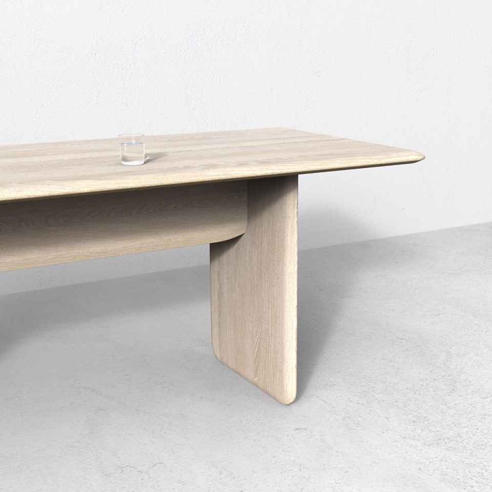 Pillow dining table