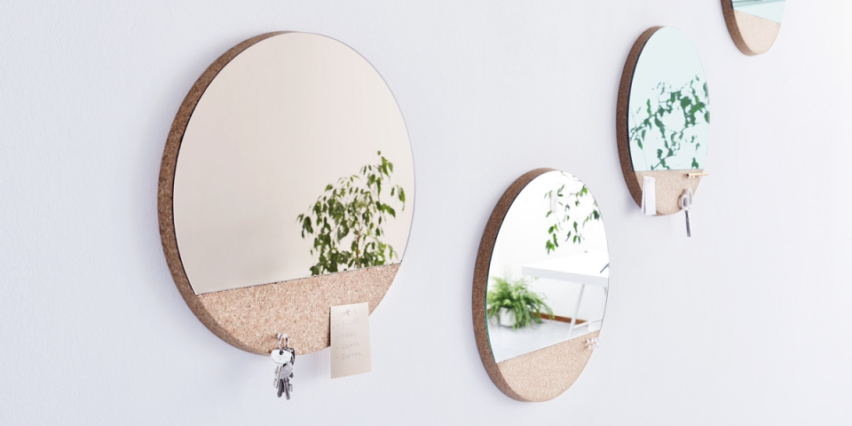 Sunset wall mirror